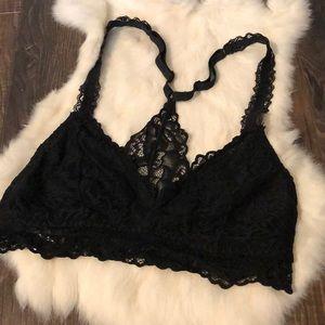 🌲 Xhiliration XS black lace bralette 🌲